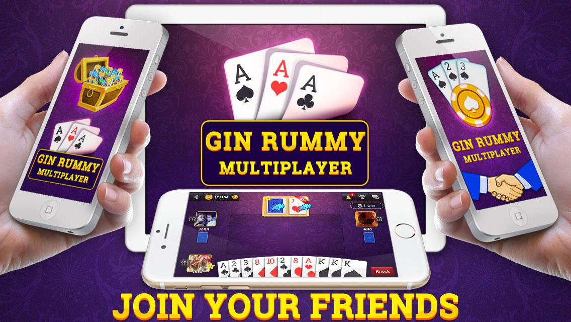 Gin Rummy Multiplayer