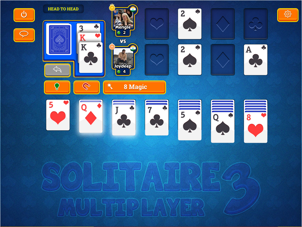 Solitaire 3 Multiplayer